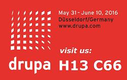 visit us @ DRUPA H13 C66