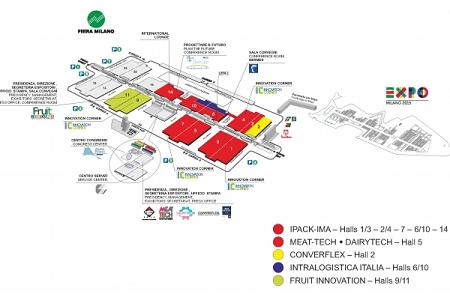 DEC IMPIANTI, IPACK-IMA, Meat-Tech, Dairytech, Fruit Innovation, Converflex, Intralogistica Italia, visit us, Rho