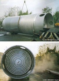 storage tank, aboveground storage tank, ust, aboveground storage tank, ast, tank farm, double skin, composite overwrapping, steel, EN-12285, overfill protection, spill containment, leak detection, ethyl acetate, alcohol, ethanol, ethyl alcohol, mek, methyl ethyl ketone, hexane, toluene, toluol, tanks (containers), bulk storage containers, UST, AST, solvent, inks, resins, steels, Cylindrical shape, Flammable materials, Liquids, Chemical water pollutants, Water pollution, Dangerous materials, Volume, Welded joints